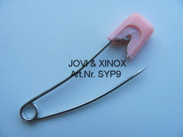 Safety pins 56mm BABY, PINK