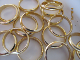 Fingerring-Ehering gold 17mm 1St.