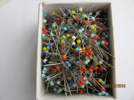 Quilting Extra Fine Glass Head Pins 1000 Count
