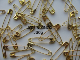 Safety pins 28mm, GOLD 1000pcs
