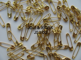 Safety pin 19mm GOLD 250pcs.