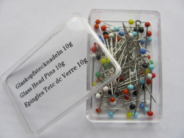 Quilting Extra Fine Glass Head Pins 100 Count