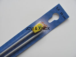 Knitting Needles 3,0mmx35cm 2pcs