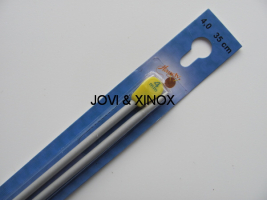 Knitting Needles 4,0mmx35cm 2pcs