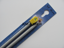 Knitting Needles 5mmx35cm 2pcs