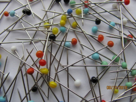 Quilting Extra Fine Glass Head Pins 5000 Count